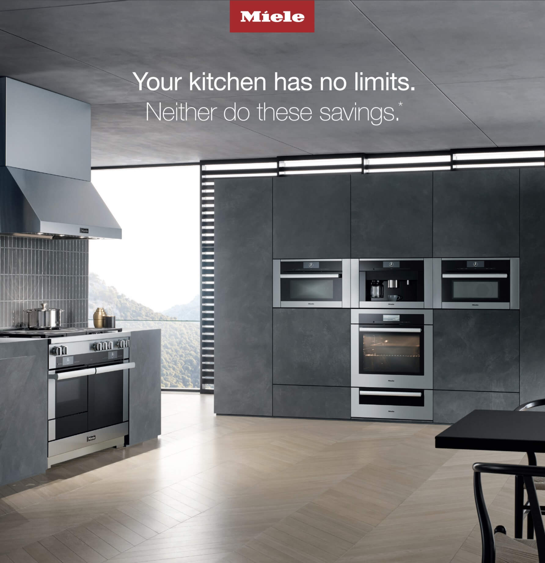 Save 10% On A Miele Kitchen Package. Ranges Dishwashers Additional  Appliances